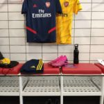 On a participé à une session de training à Arsenal avec Adidas