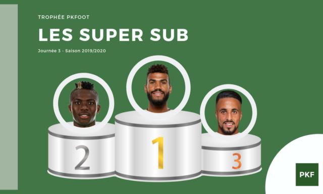 Election du Super Sub de Ligue 1 – Journée 3