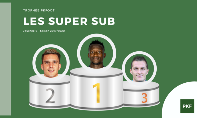 Election du Super Sub de Ligue 1 – Journée 6