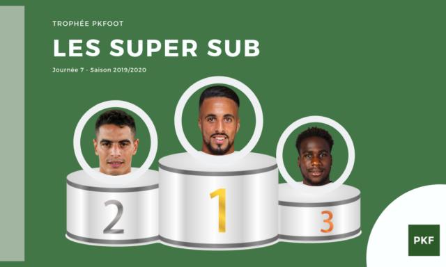 Election du Super Sub de Ligue 1 – Journée 7