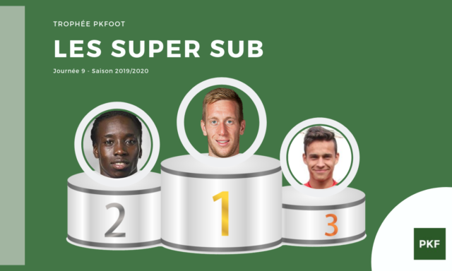 Election du Super Sub de Ligue 1 – Journée 9