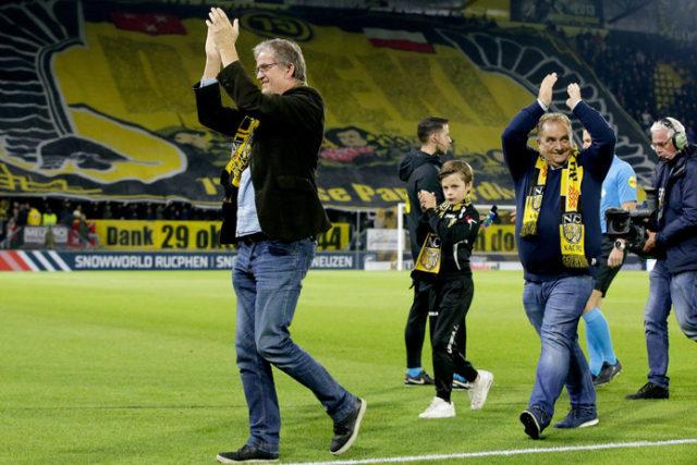 Pour les 75 ans de la libération de la ville, le NAC Breda a renommé son stade