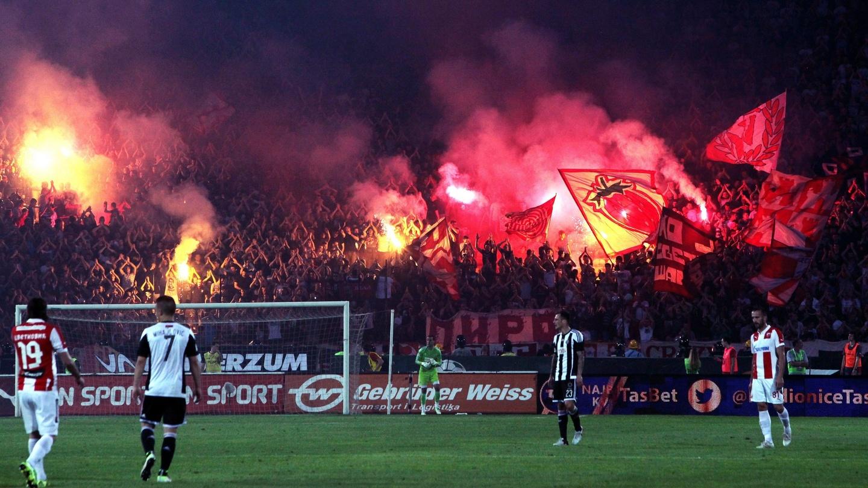 Les «supporters» de Belgrade sanctionnés pour racisme