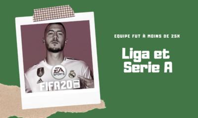 Equipe FUT Liga et Serie A