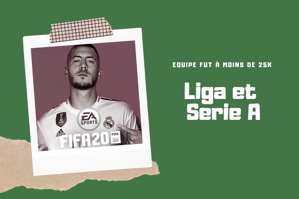FUT 20 : Une team Liga et une team Serie A pour moins de 25k