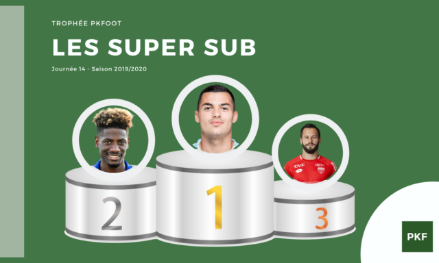 Election du Super Sub de Ligue 1 – Journée 14