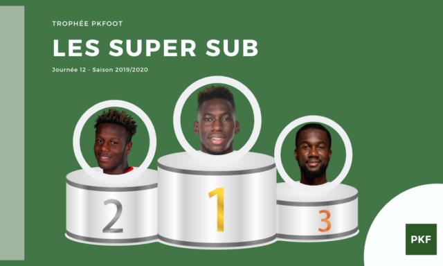 Election du Super Sub de Ligue 1 – Journée 12