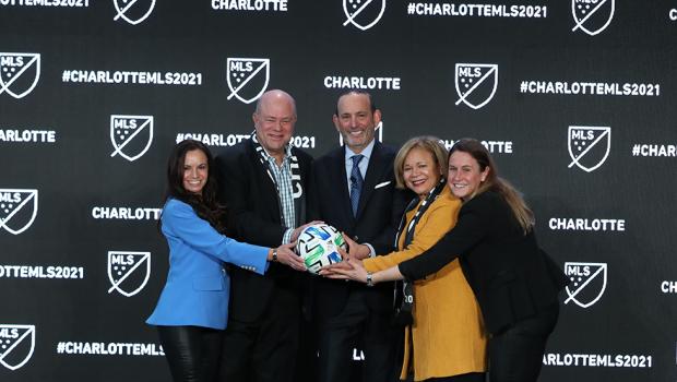 Charlotte, nouvelle franchise de MLS à partir de 2021