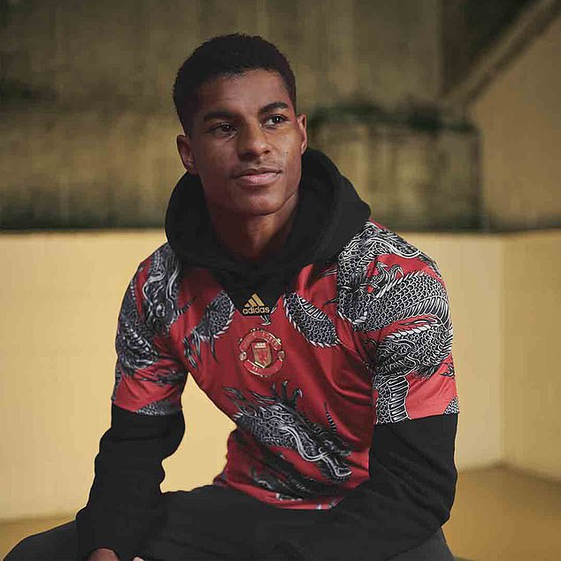 Le maillot (très) spécial de Manchester United pour le Nouvel An chinois