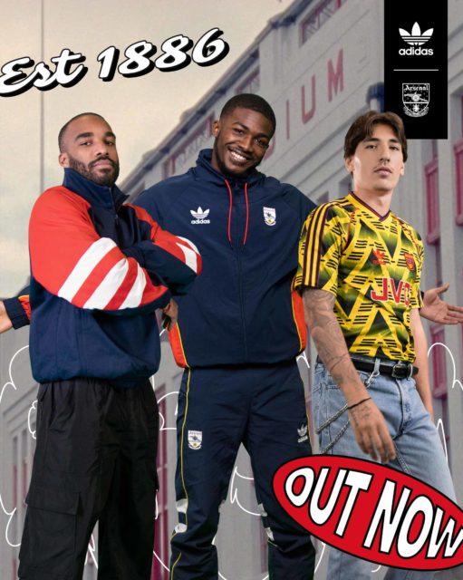 Adidas lance sa collection Originals Retro Arsenal