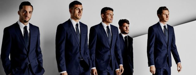 Le PSG offre ses vieux costumes pour la bonne cause