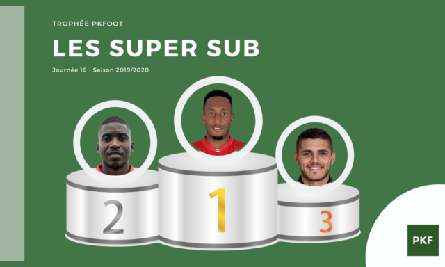 Election du Super Sub de Ligue 1 – Journée 16