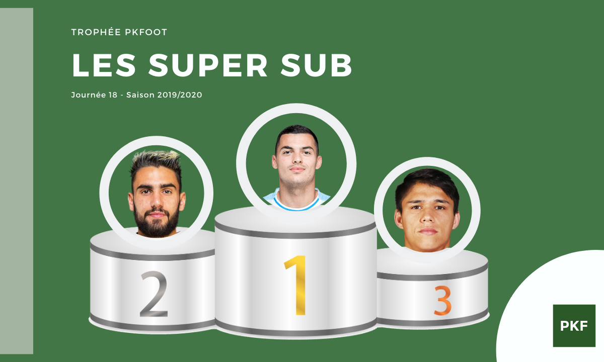Election du Super Sub de Ligue 1 – Journée 18