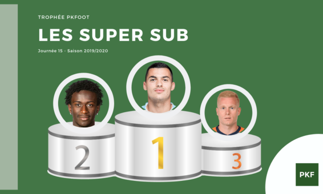 Election du Super Sub de Ligue 1 – Journée 15