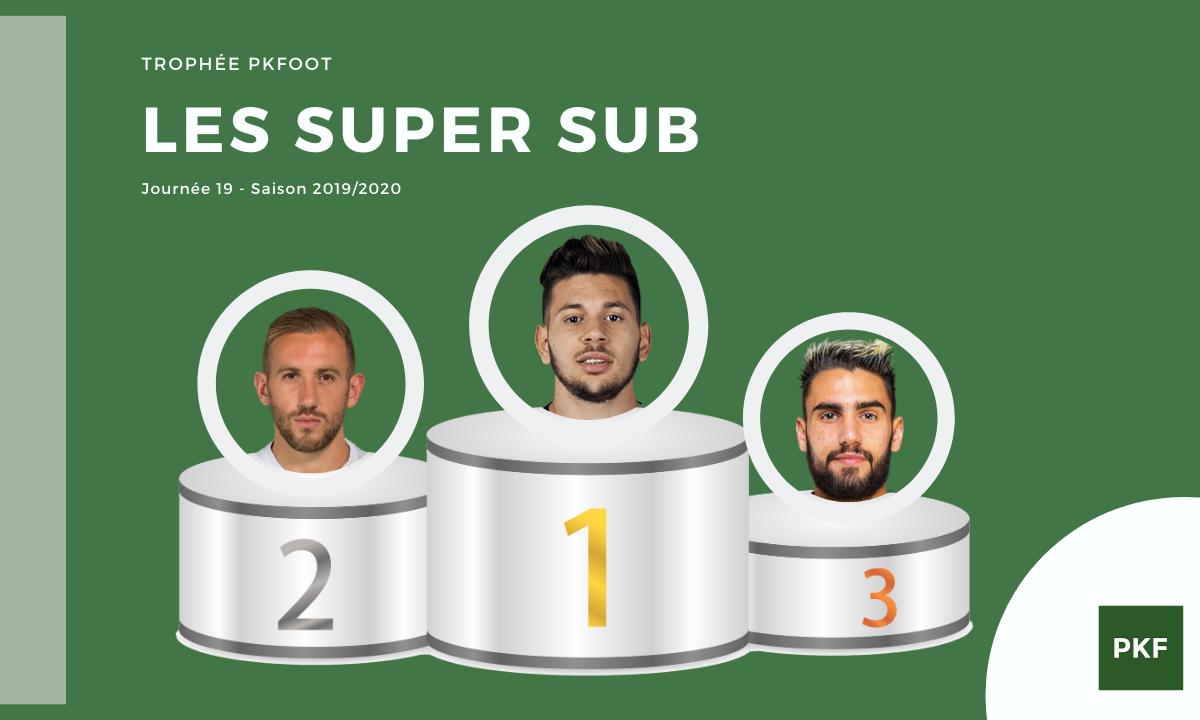 Election du Super Sub de Ligue 1 – Journée 19