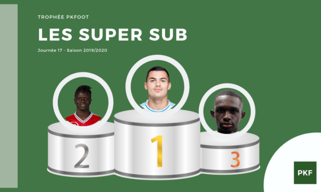 Election du Super Sub de Ligue 1 – Journée 17