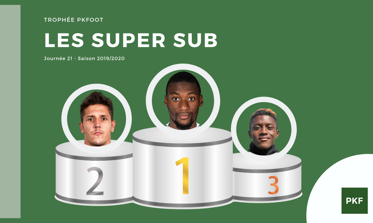 Election du Super Sub de Ligue 1 – Journée 21