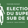 Election Super Sub L1 J26