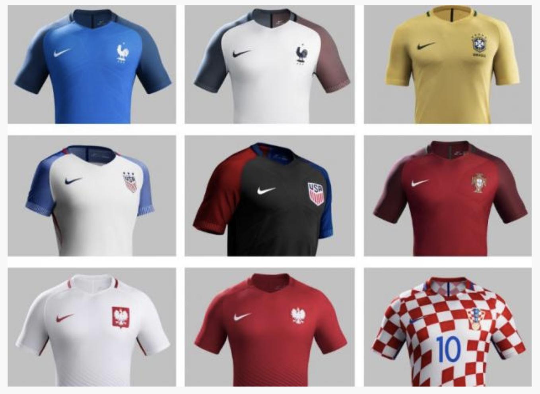 Bonne nouvelle : Nike abandonne les templates pour ses maillots