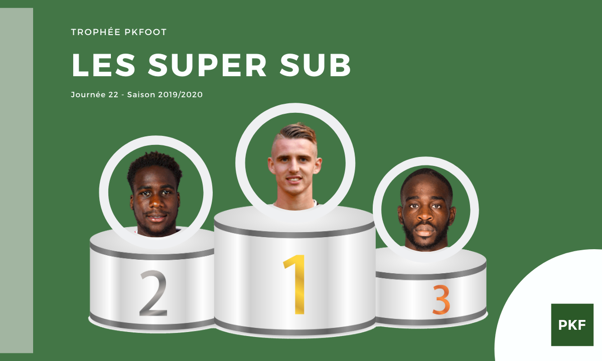 Election du Super Sub de Ligue 1 – Journée 22