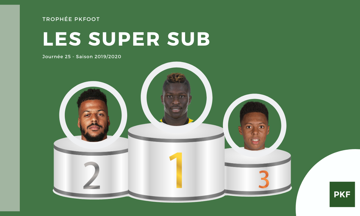 Election du Super Sub de Ligue 1 – Journée 25