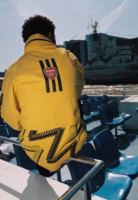 Une nouvelle création unique d'Arsenal avec Ahluwalia Studio