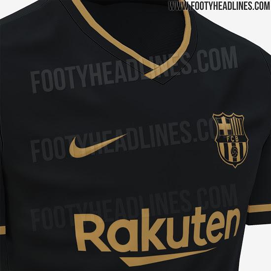 Le Barca va miser sur un maillot away noir pour la saison prochaine