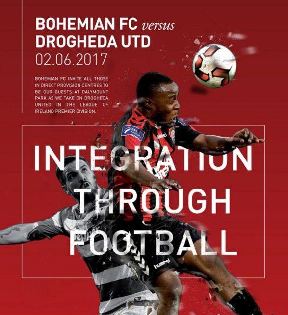 « Refugees Welcome », le nouveau maillot engagé du Bohemian FC