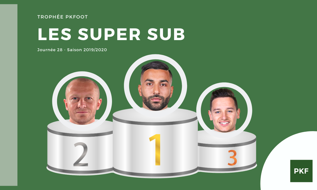 Election du Super Sub de Ligue 1 – Journée 28