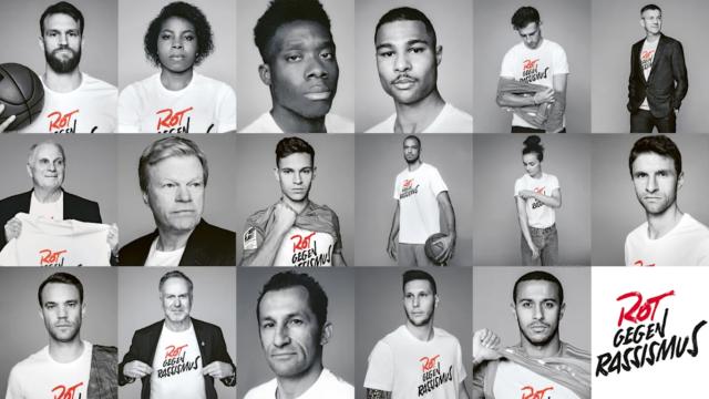 « Rot gegen Rassismus» ; la nouvelle campagne du Bayern contre le racisme