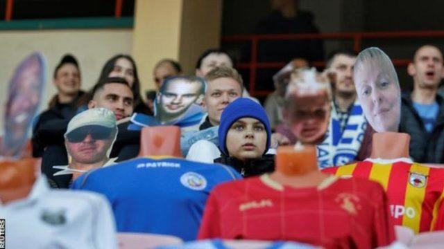 Le Dynamo Brest accueille des fans virtuels