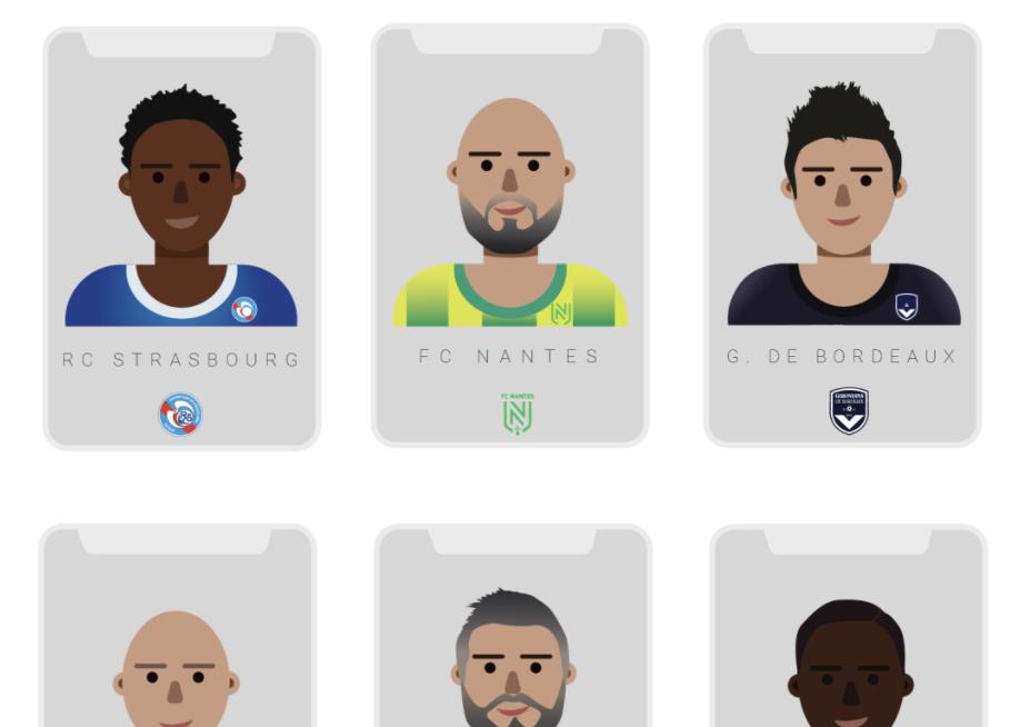 Le «Qui est-ce ?» version Ligue 1 fait son arrivée