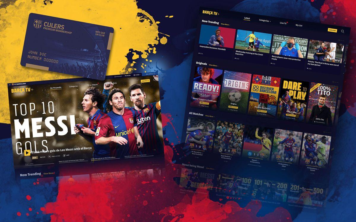 Barça TV+, le Netflix du FC Barcelone