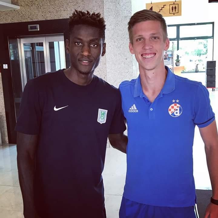 """Les derbies sont les matchs les plus faciles"" Macky Frank Bagnack, NK Olimpija Ljubljana"