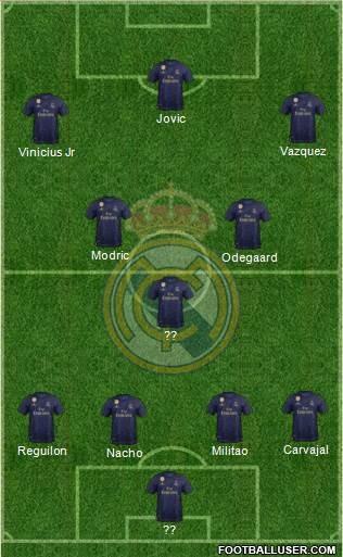 Tactique #2 : comment faire jouer le Real Madrid ?
