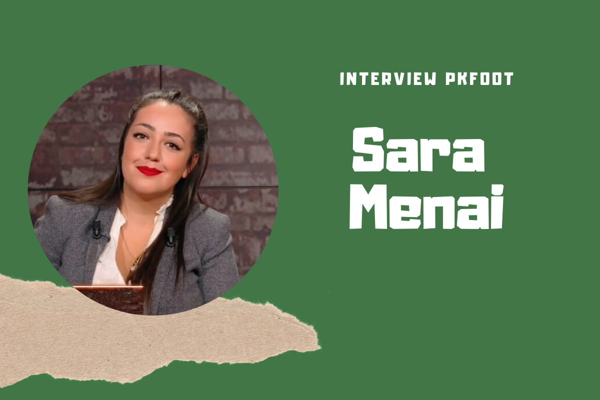 Interview Sara Menai