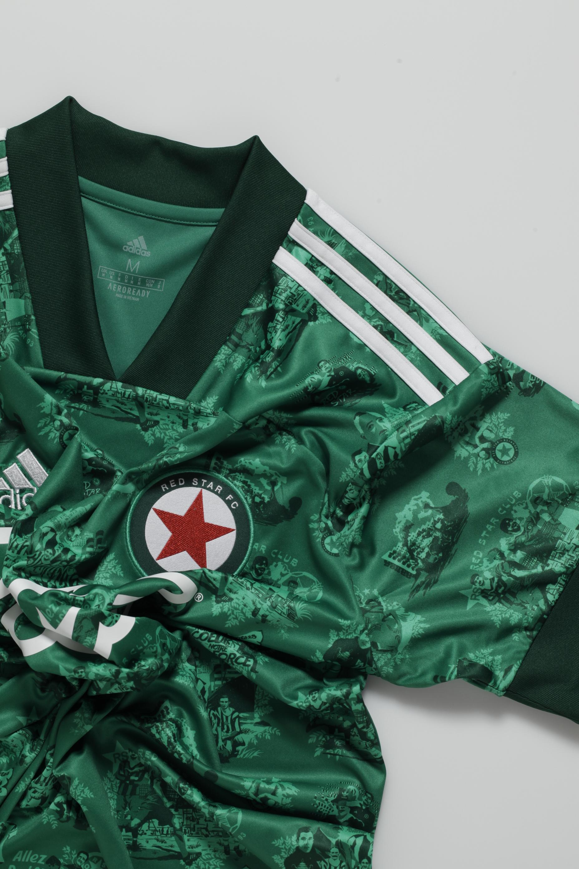 Le Red Star rapproche passé et présent avec ses nouveaux maillots
