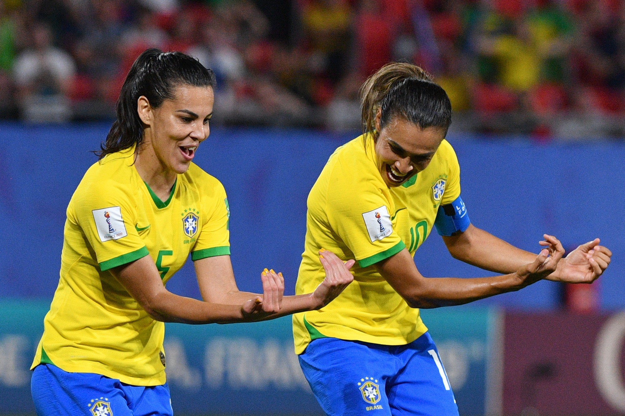 L'égalité de salaire arrive en équipe du Brésil
