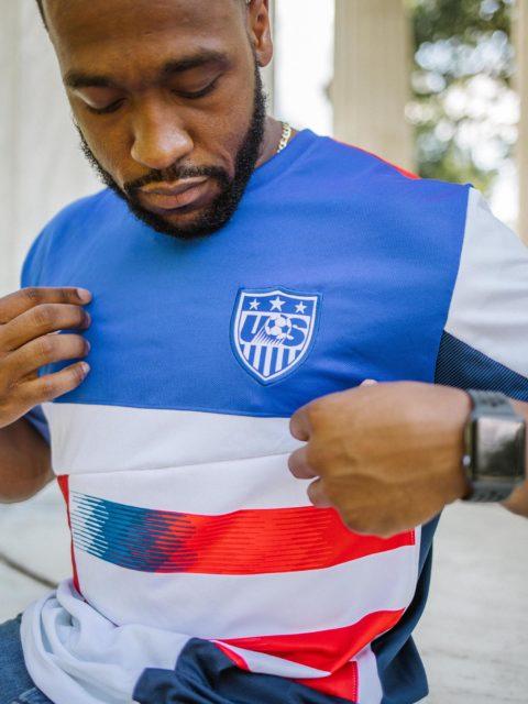 Un remix du maillot des USA façon Participation Trophy Studio