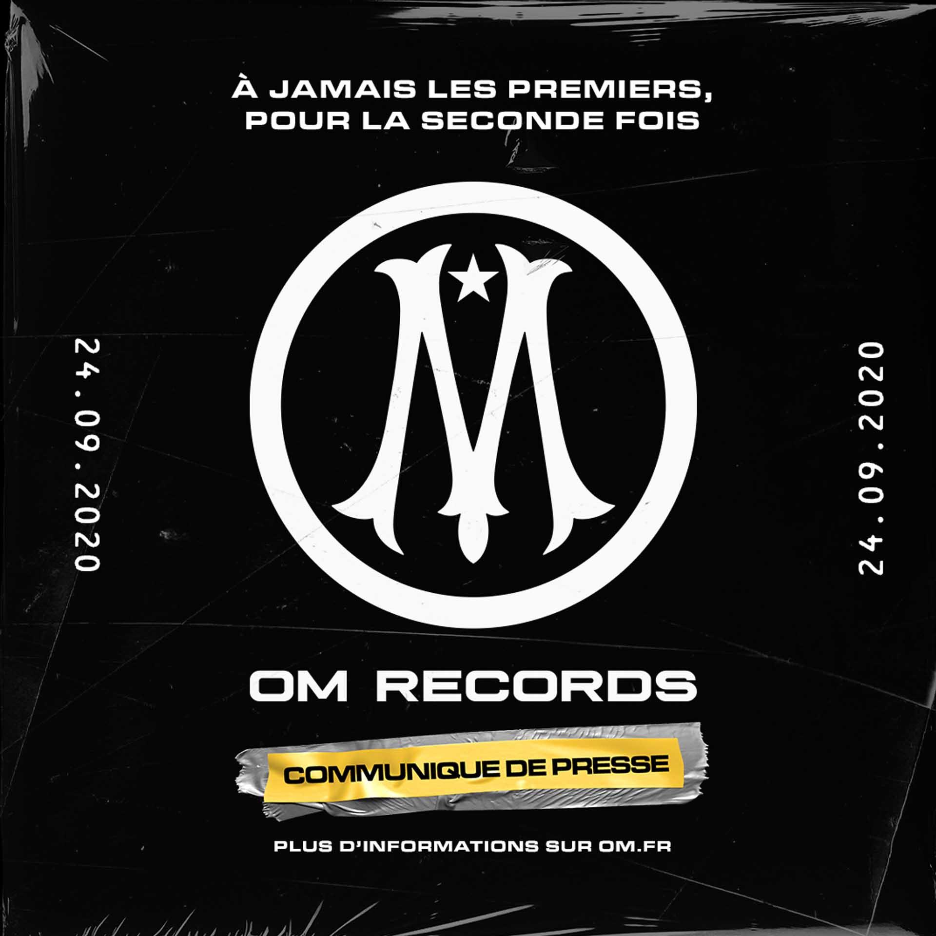 L'OM se lance dans la vente de disques