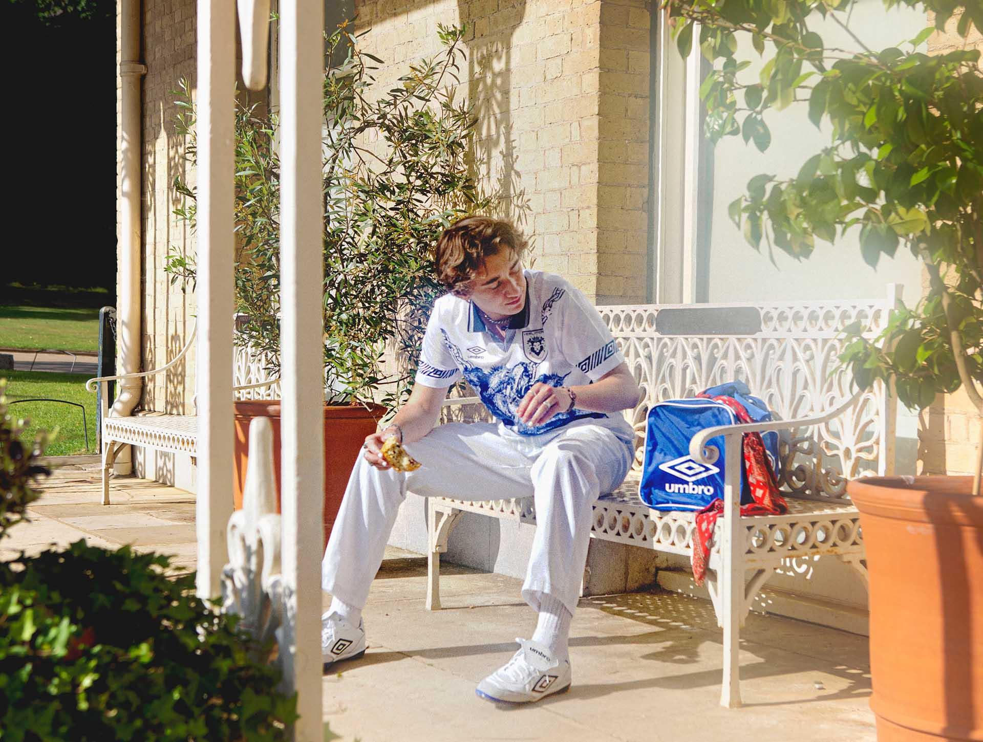 Une nouvelle collab' entre Umbro et un artiste anglais