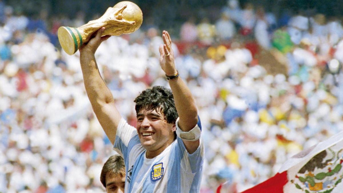 Maradona : le départ du gamin en or