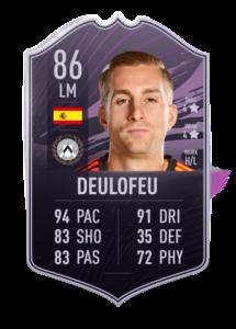 Quelle équipe cheatée pour l'objectif Deulofeu sur FUT 21 ?