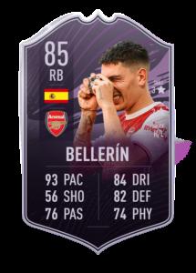 Quelle équipe cheatée pour l'objectif Bellerin sur FUT 21 ?