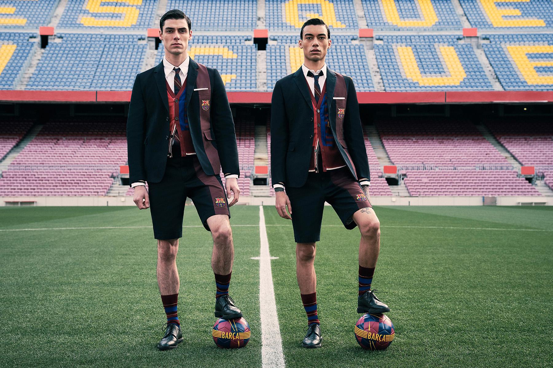Thom Browne et Barcelone dévoilent une collab' surprenante