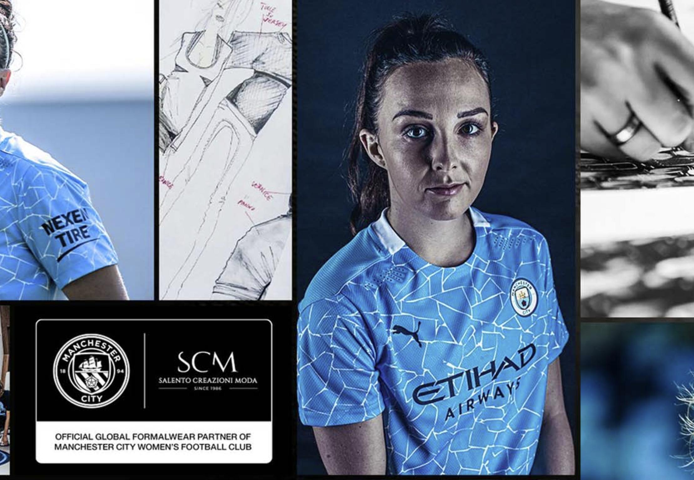 Les féminines de Manchester City rejoignent un couturier italien