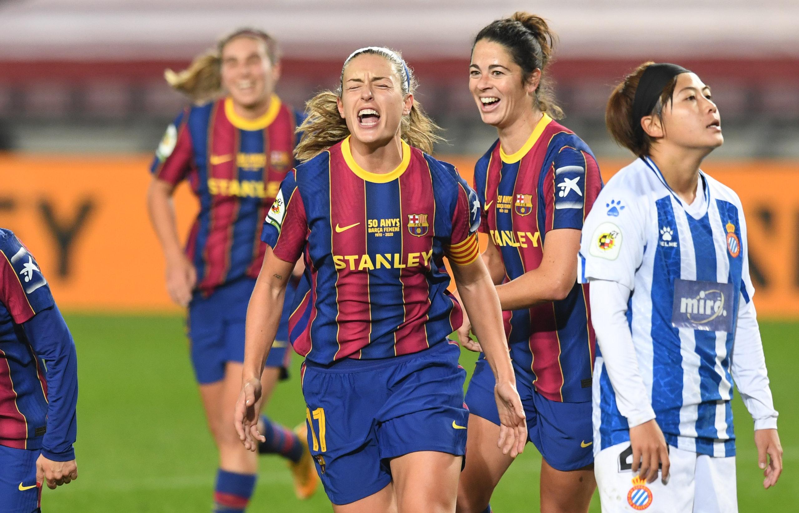 Le Barça Féminin au Camp Nou pour la première fois