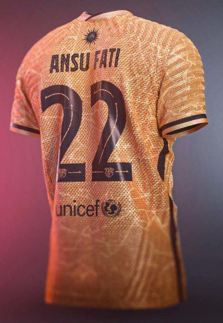 FC Barcelone x Soccept : un kit de maillots spectaculaire