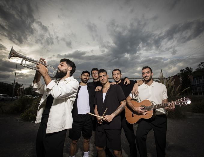 Orsai, le groupe musical des joueurs de Bilbao
