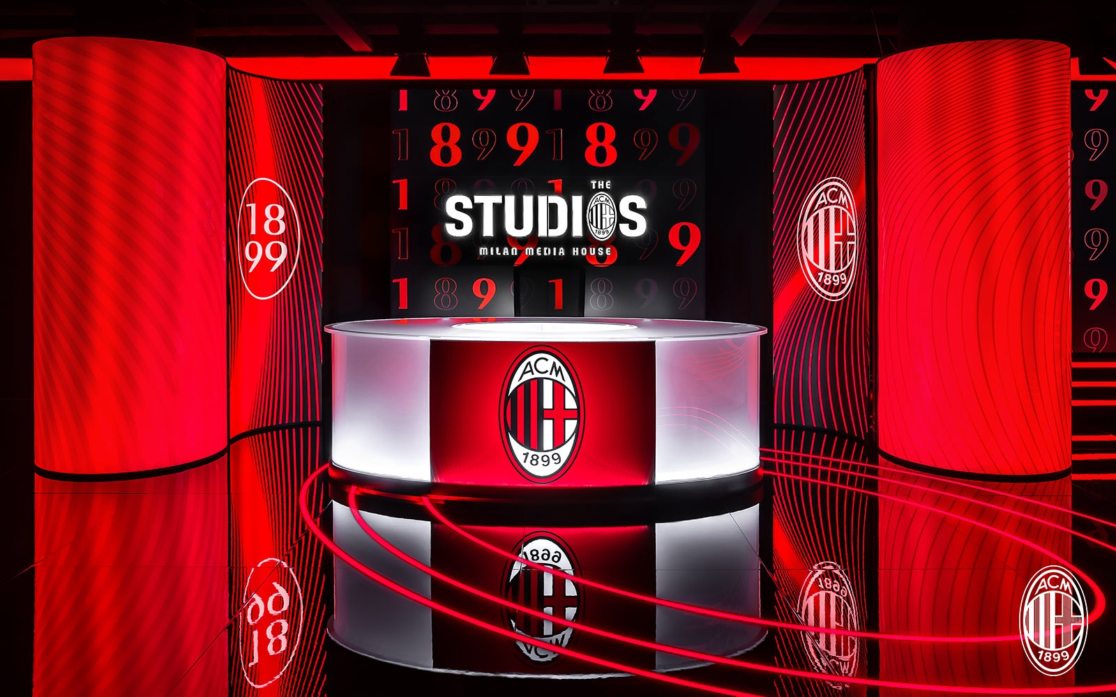 Milan Média House : Les Studios Rossoneri